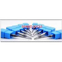 Buy cheap 0.6 UM Grain Size End Milling Cutter , Long Neck Square Solid Carbide End Mills product