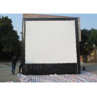 Buy cheap Air Sealed Backyard Inflatable Movie Screen , Rear Projection Screen For Party product