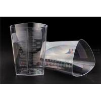 Buy cheap 1000cc FDA Registered Iso 13485 Triangular Container Transparent Three Sided Material product