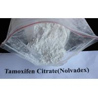 Buy cheap 99% Tamoxifen Citrate Steroid Powder Nolvadex / Tamoxifen Citrate CAS 54965-24-1 product