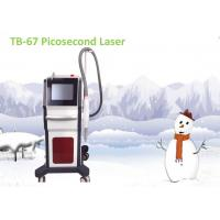 Buy cheap Makeup Picosecond Tattoo Reduction Machine , 1064nm 755nm 1320nm Pigmentation from wholesalers