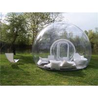 Transparent  Room Inflatable Tent , Inflatable Bubble Tent With Blower