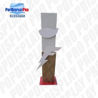Buy cheap Durable Cardboard Store Standee Display Floor Standing Unit With 2*3D Logos product