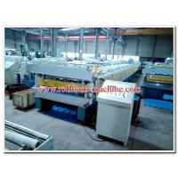 Buy cheap Two Layer Aluminium Corrugating Machine for Metral Long Span and Metrocopo Steptile Roofing Sheet product