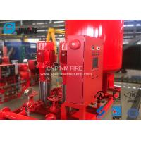 Buy cheap Stainless Steel Fire Jockey Pump 50 Gpm With Electric / Diesel Engine product