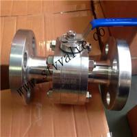 China 2 PCS 150lb Forged Steel Flanged Ball Valve Ball Valve on sale