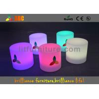 Buy cheap LED Round Bar Stools Glowing Furniture , Modern Bar Furniture product