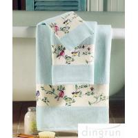 Buy cheap Premium Pure Cotton Hand Wash Towels For Home / Hotel / Kitchen 30*60cm product