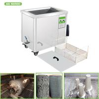 Buy cheap MarineIndustry Filters Vessel Ultrasonic Bath 60L 230V 60HZ Length Of 550mm For Mechanical Part, Fuel Oil Filters product