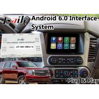 Buy cheap Android 6.0 Multimedia Video Interface for Chevrolet Tahoe / Silverado MyLink System 2015-2018 Mirrorlink Waze product