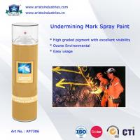 Buy cheap Non-Flammable Undermining Mark Spray Paint product