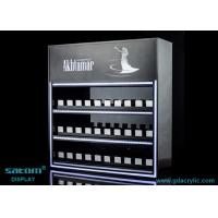 Buy cheap Custom Three Layers Cigarette Display Cabinet With Gliding Dispenser In Shop from wholesalers