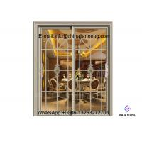 Quality Customized Contemporary Design Aluminum Sliding Doors Sound Insulation for sale