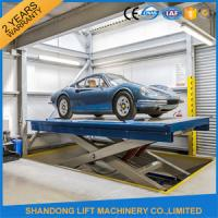 Buy cheap Hot Dip Galvanizing Hydraulic Car Lifts High Strength Manganese Steel Material product