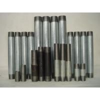 Buy cheap BSPT seamless steel pipe nipples SCH40/SCH80 product