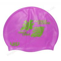 Buy cheap printing silicone swim hats and hair cap product