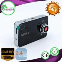K6000 Full Hd Night Vision Dash Cam With 2.4 Inch Lcd Screen / TF 32GB Memory Card