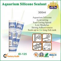 China 300ml Waterproof Silicone Sealant / Heat Resistance Silicone Adhesive For Glass on sale