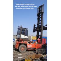 Buy cheap Euro 3 Used Empty Container Handler Original Container Reach Stacker product