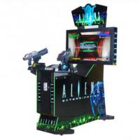Buy cheap Coin operated electronic Arcade Aliens Extermination shooting game machines indoor 42LCD simulator gun shootin product