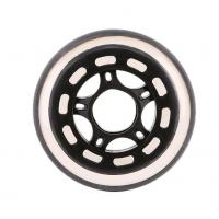 Buy cheap 73x25 Sunflower Crystal Round Casting Polyurethane Wheel for Skates product