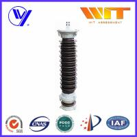 Buy cheap 111KV Substation Lightning Arrester Single Phase with Copper Cap product