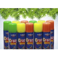 Buy cheap Colorful Non Flammable EN71 Party String Spray product