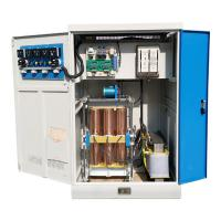 Buy cheap High Power Industrial Voltage Stabilizer 200KVA 380VAC Automatic Voltage Regulator product