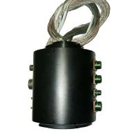 Buy cheap Engineering Machines Through Hole Slip Ring 46 Circuits Routing Current / Signal product
