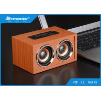 Buy cheap Brown Full Wooden Wireless Speakers Blutooth V3.0+ EDR With TF Card from wholesalers
