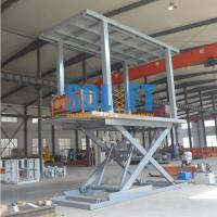 Buy cheap Small Car Lift Hydraulic Car Lift Parking System Outdoor Elevator For Home product