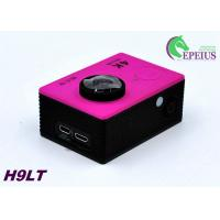 Buy cheap Mini 30M H9 LT 4k Sports Action Camera With Seven Colors Full Accessories product