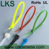 Buy cheap LKS UV protection and cold-resistance self-locking nylon cable ties with different colors product