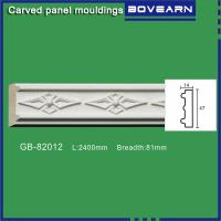 China High density polyurethane foam panel mouldings various designs 47mm width color customized OEM cervice on sale