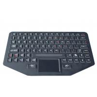 Buy cheap 89 key Silicone backlit  ruggedized keyboard with sealed touchpad , optional trackball product