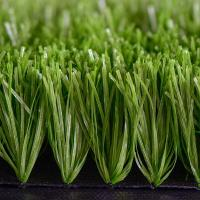 Buy cheap Sports Realistic Football Synthetic Grass / 50mm Artificial Soccer Turf product