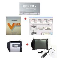Quality 2018/03 MB SD Connect C4 with Super Engineering Software DTS monaco And Vediamo for sale