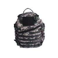 Buy cheap Easily Carry Military Camo School Backpack , Double Stitched Camo Hiking from wholesalers