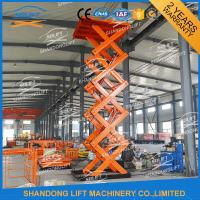 Buy cheap Heavy Duty Stationary Hydraulic Scissor Lift Platform For Warehouse , Packaging System product