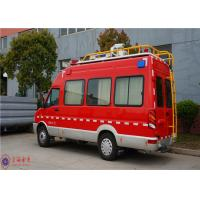 Buy cheap IVECO Chassis Command Fire Trucks Gross Weight 4000kg For Buliding Fire Fighting product