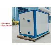 Buy cheap Automatic defrosting 76kw water cooled heat pump, water to water heat pump heating system product