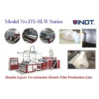 Buy cheap Vinot Brand Cast Stretch Film Machine with two feed cylinder can adopt different material recipe  Model No. SLW-600 product