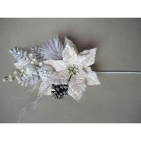 Buy cheap White Bloom  Silk imitationArtificial Decorative Flowers  for gifts product