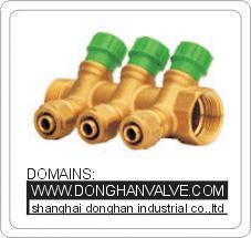 Cheap Floor Heating Manifold , Water Heating Manifold wholesale