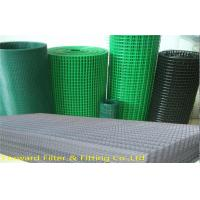 Low Carbon Steel Architectural Woven Metal Mesh / PVC Coated Welded Wire Mesh