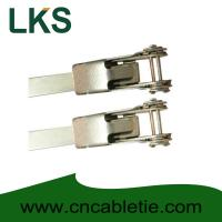 Buy cheap LKS-900mm Universal Stainless Steel Clamping Ties product