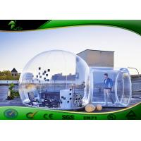Buy cheap Transparent Inflatable Bubble Tent , Fireproof Inflatable Camping Tent product