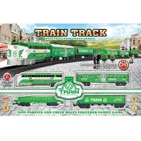 Buy cheap Electric Classic Train Railway Race Set W / Sound For Christmas Gift product
