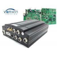Buy cheap 1T HDD Car Mobile DVR UPS Tracking 3G Vehicle CCTV 4 Channel Alarm System VW605 product