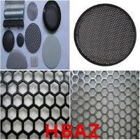 Buy cheap Perforated Metal Mesh For Speaker from wholesalers